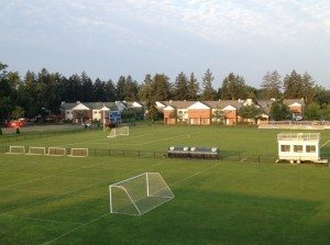 Western New England Soccer Academy is held in July on the beautiful campus of Western New England University.